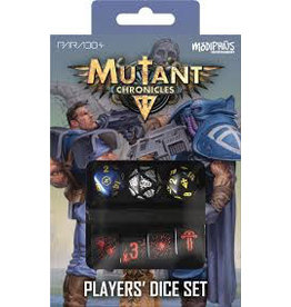 Modiphius Mutant Chronicles Q-Workshop Player's Dice