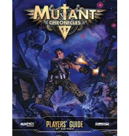 Modiphius Mutant Chronicles Players Guide