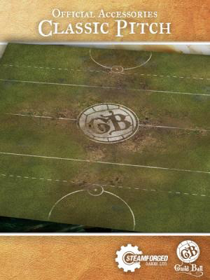 Steamforged Guild Ball Play Mat :Classic Pitch