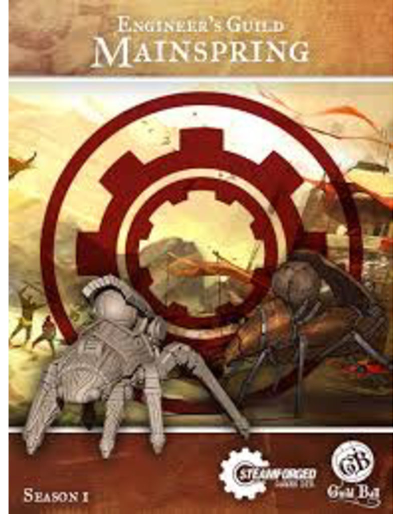 Guildball Engineers Guild Mainspring
