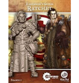 Steamforged Guildball Engineers Guild Ratchett