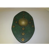 Skian Mhor Celtic Style Buckler Green and Gold
