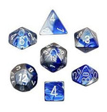 "1 set of 7 Polyhedral dice by Chessex ""The coolest dice on the planet"""