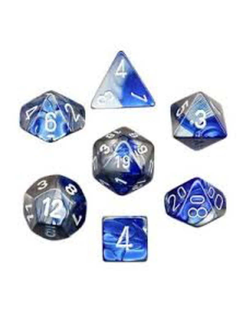 """1 set of 7 Polyhedral dice by Chessex """"The coolest dice on the planet"""""""