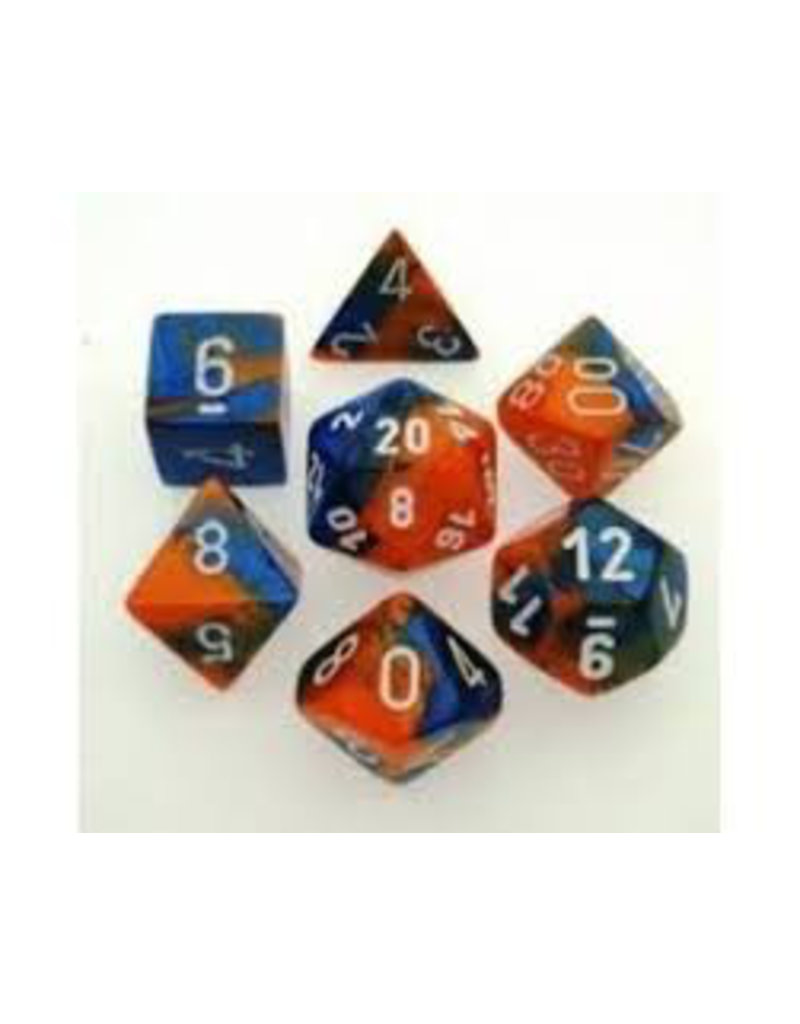 "1 set of 7 Polyhedral dice by Chessex ""The coolest dice on the planet""."