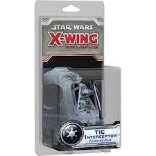 Fantasy Flight X Wing Mini Game Tie Interceptor