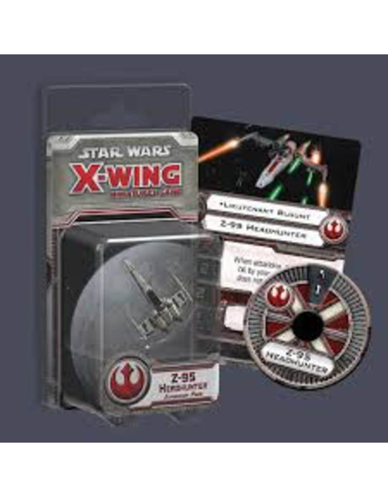 Fantasy Flight X Wing Mini Game Z-95 Headhunter Expansion Pack