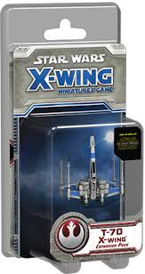 Fantasy Flight X WING MINATURES GAME T-70 EXPANSION
