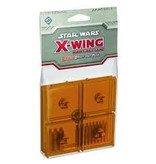 Fantasy Flight X Wing Mini Game Orange bases and pegs accessory