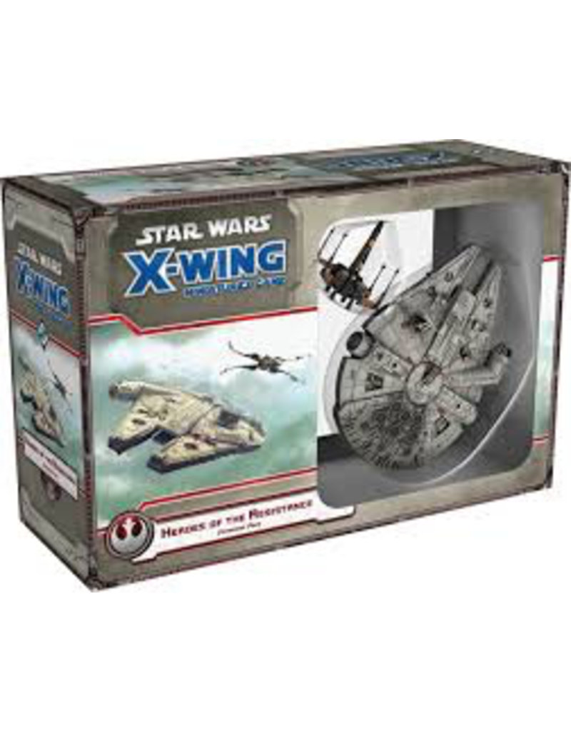 Fantasy Flight X Wing Mini Game Heroes of the resitance Expansion Pack