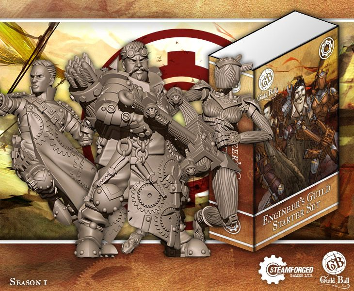Steamforged Guild Ball Engineers Guild Starter Set