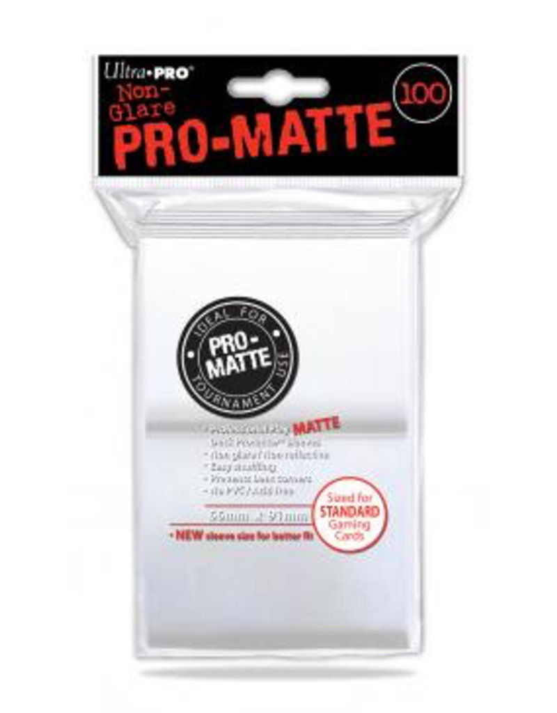 Ultra Pro Pro Matte White DPD