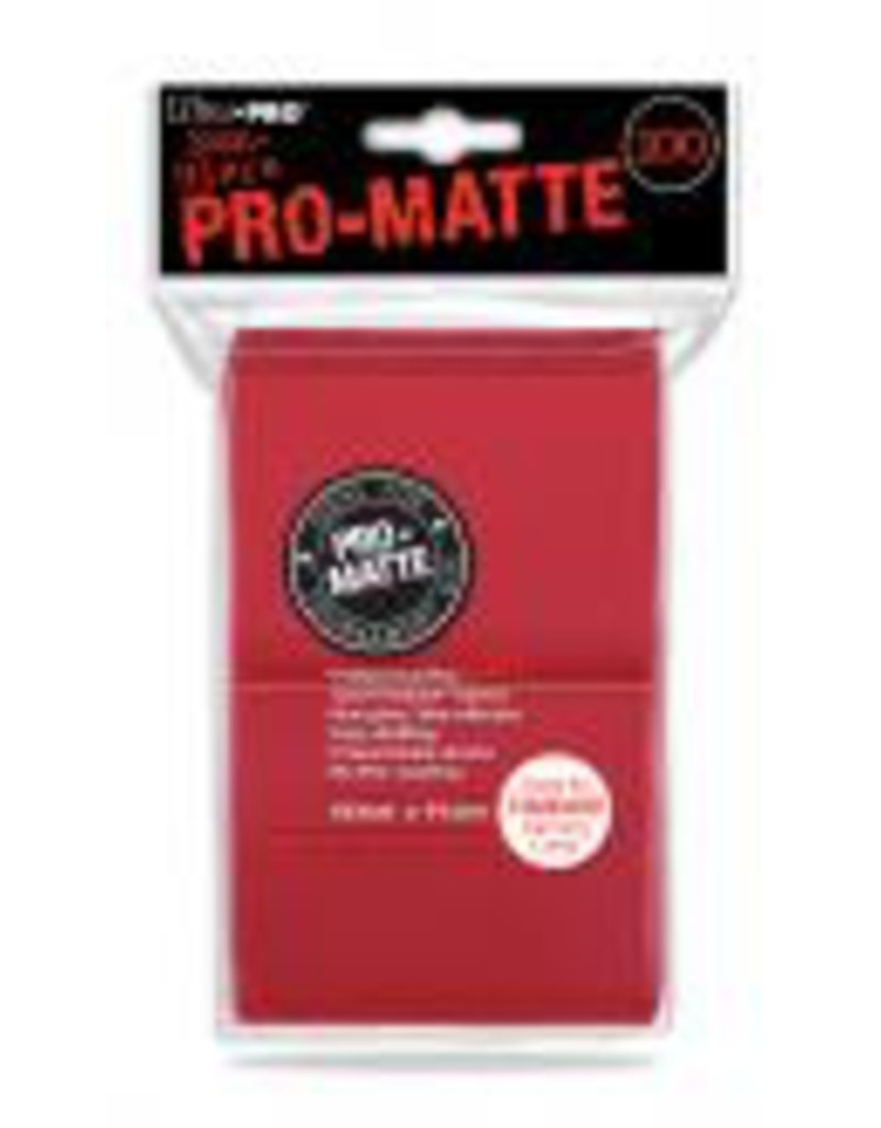 Ultra Pro Pro Matte Red DPD