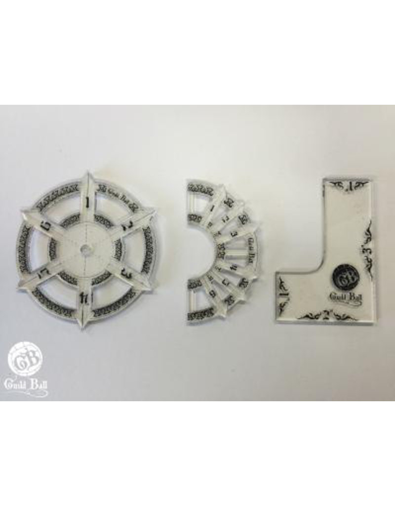 Steamforged Guildball Template Set