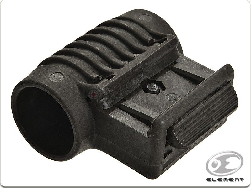 Element Element flashlight mount for 20mm RIS rail. Easy attach system for fast installing.