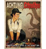 Modiphius Achtung! Cthullu - Investigators guide to the secret war