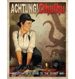 Modiphius Achtung! Cthullu - Investigators guide to the secret war