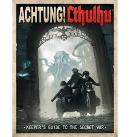 Modiphius Achtung! Cthullu - Keepers guide to the secret war