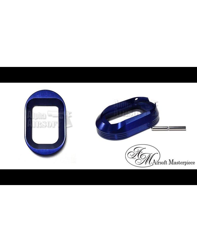 Airsoft Masterpiece Airsoft Masterpiece Magwell - Limcat marking (Blue)