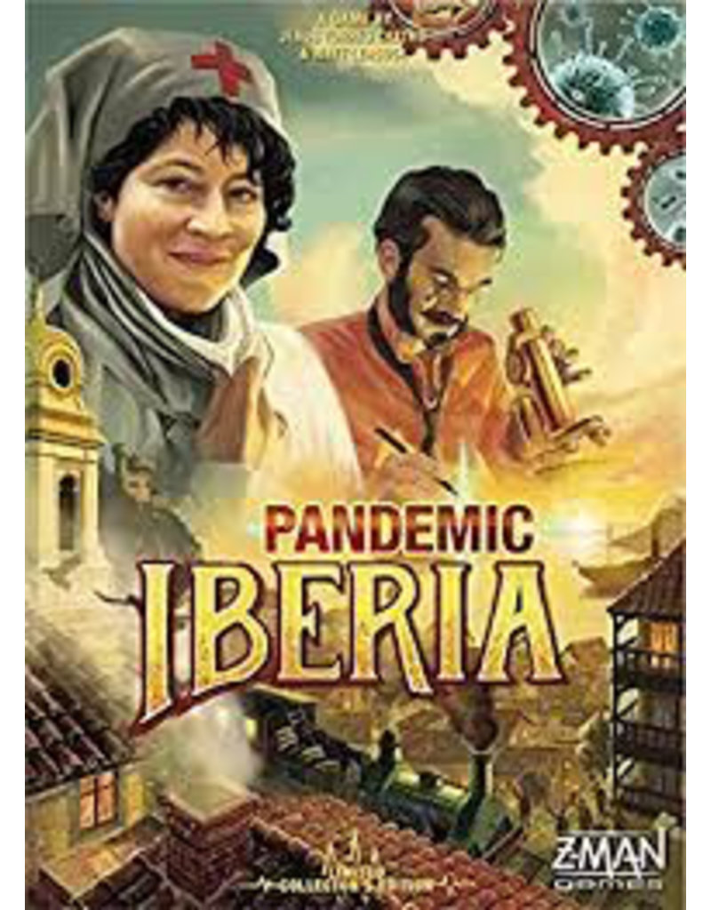 Z Man Games Pandemic Iberia