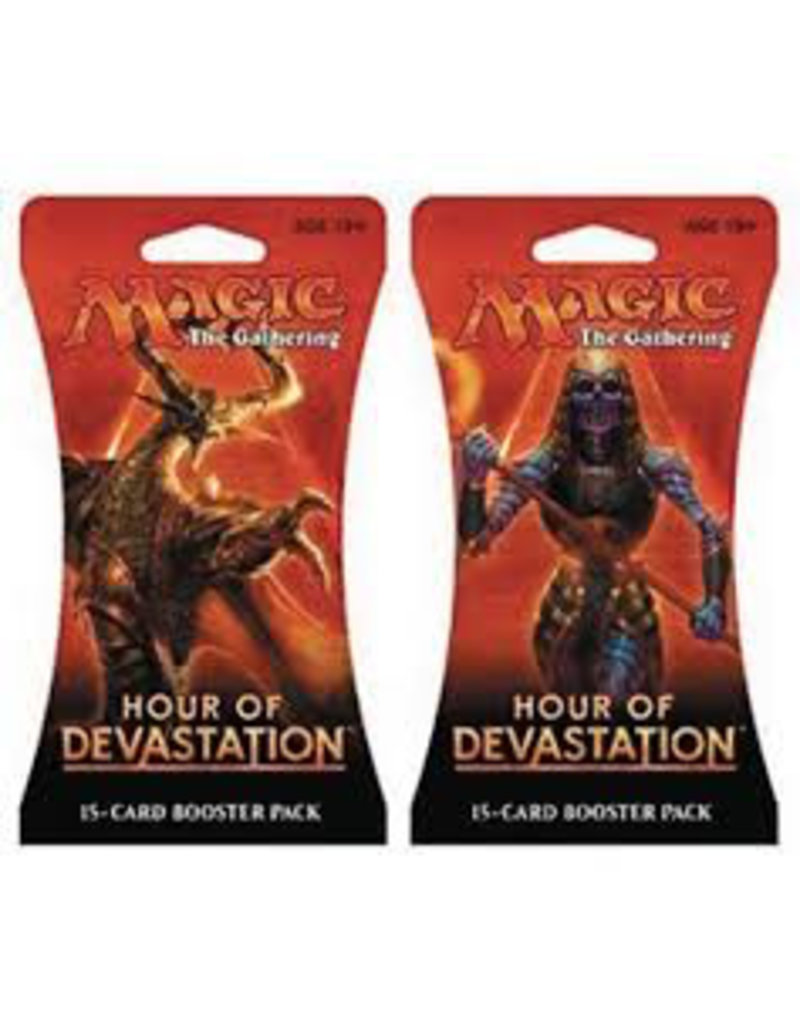Wizards of the Coast MTG:Hour of Devestation Booster