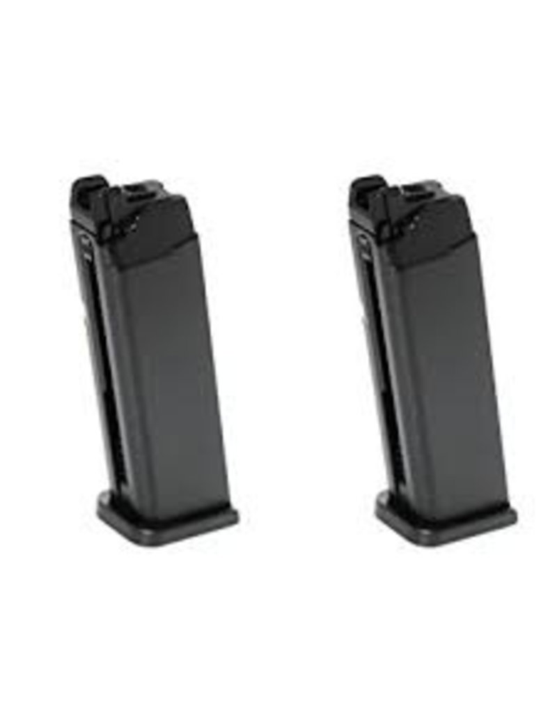 APS APS - ACP - Top Turbo Gas Magazine (APS/Marui - Black - 23 Rounds)