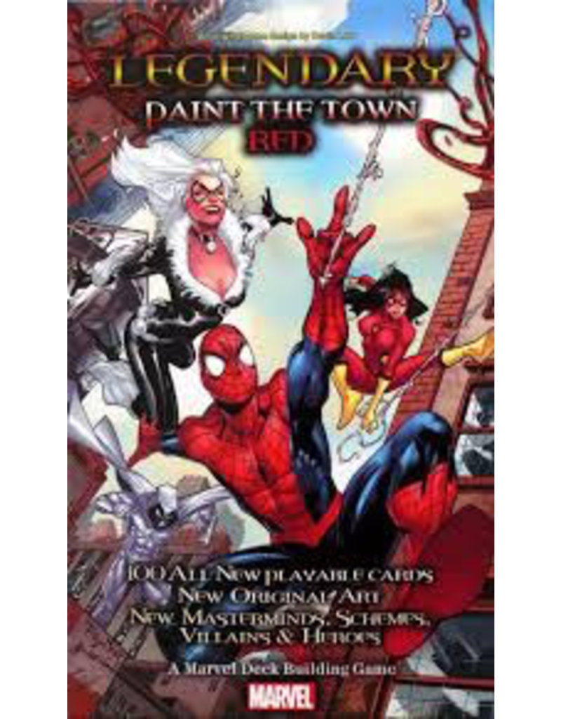 Upper Deck Legendary Paint the town red Expansion