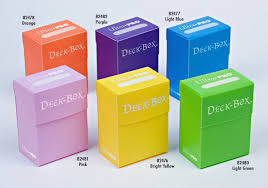 Ultra Pro blue deck boxes