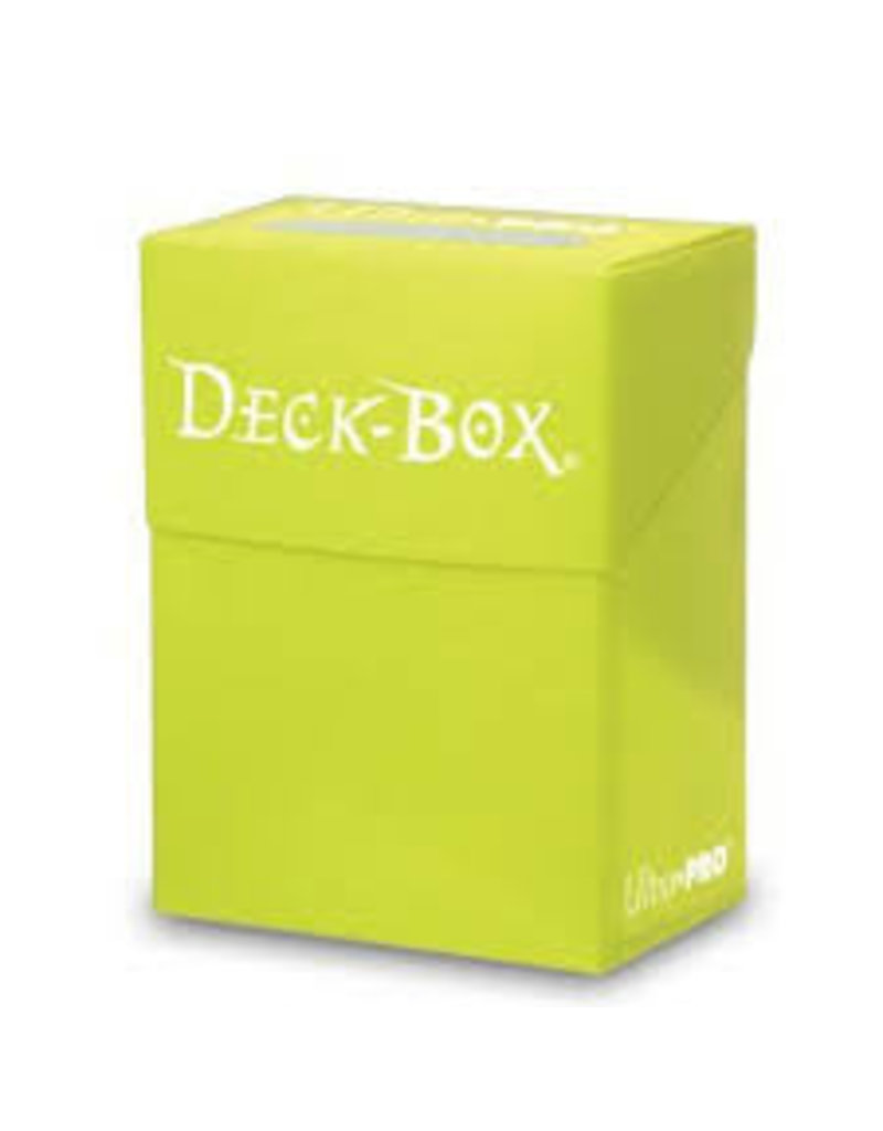 Ultra Pro Bright Yellow Deck Box