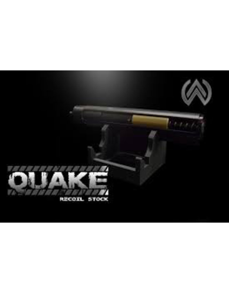 Complete Quake Stock with control board and Reaper Spartan Edition