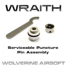 Wolverine Wolverine Wraith Replacement Puncture Pin Assembly for WRAITH CO2