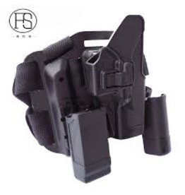 Big Leg Holster 17 Series with two pouches