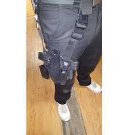Big Foot Big Leg Holster 1911 with two pouches