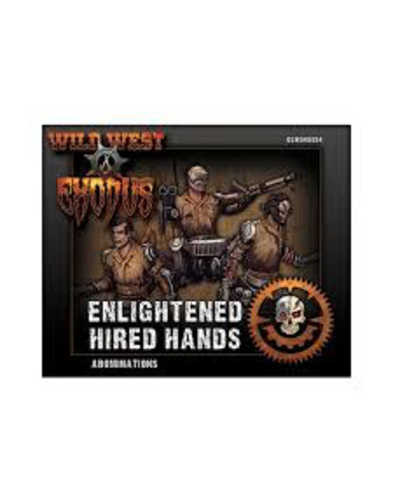 Warcradle Wild West Exodus Enlightened Abominations Box (Hired Hands)