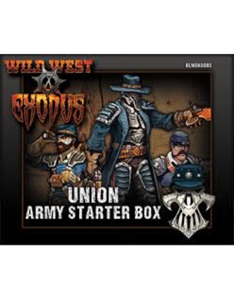 Warcradle Wild West Exodus Union Armored Guards Box