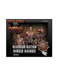 Warcradle Warrior Nation Braves Box (Hired Hands)