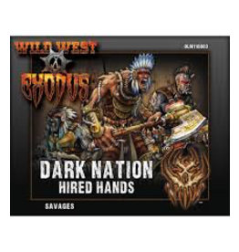 Warcradle Dark Nation Savages (Hired Hands)