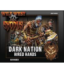 Warcradle Dark Nation Savages (Hired Hands)