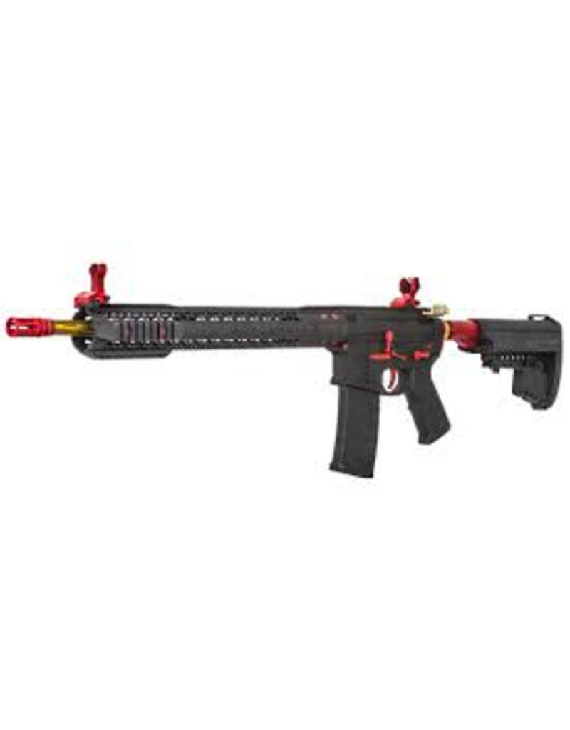 King Arms Black Rain Ordnance AEG- Black AND RED