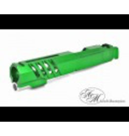 "Airsoft Masterpiece Airsoft Masterpiece Custom ""Saber"" Standard Slide for Hi-Capa/1911 (Green)"