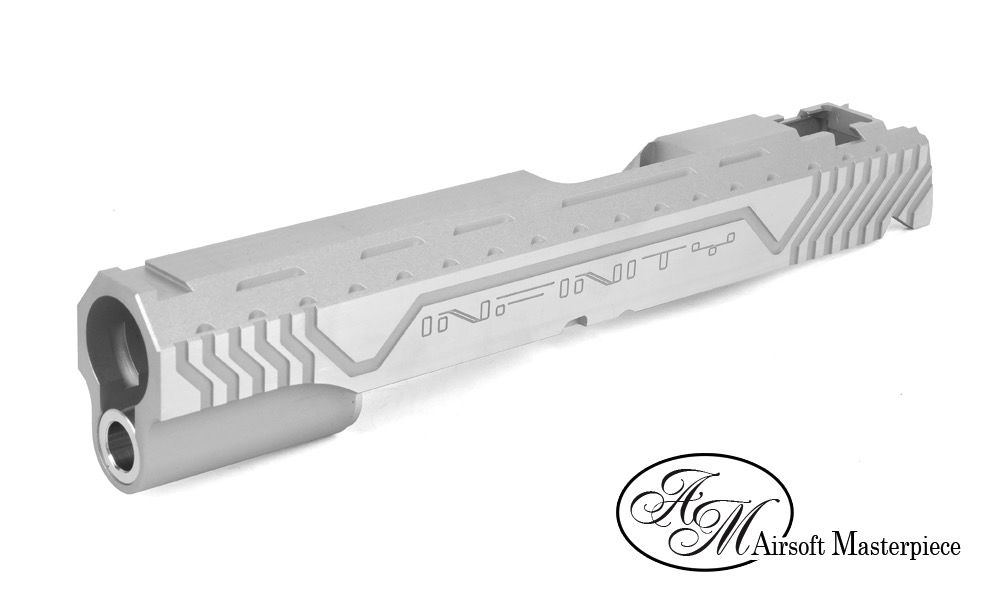 Airsoft Masterpiece Airsoft Masterpiece Infinity Electric Strips ver Standard Sklide - Silver