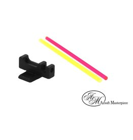 Airsoft Masterpiece Airsoft Masterpiece Steel Fiber Front Sight- Brazo Micro Dot