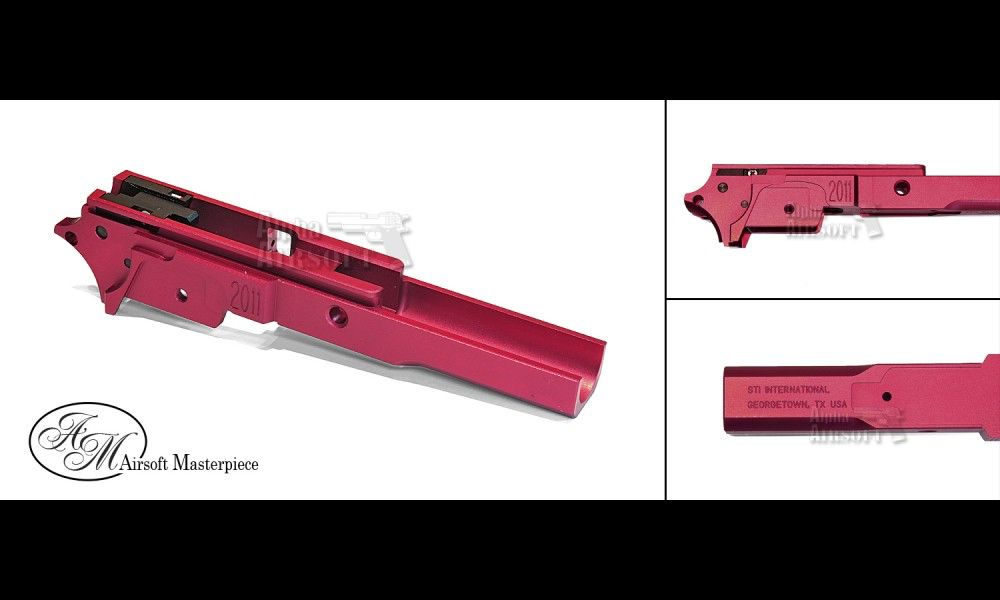 Airsoft Masterpiece Airsoft Masterpiece Aluminium Advance Frame - STI2011 3.9 (Red)