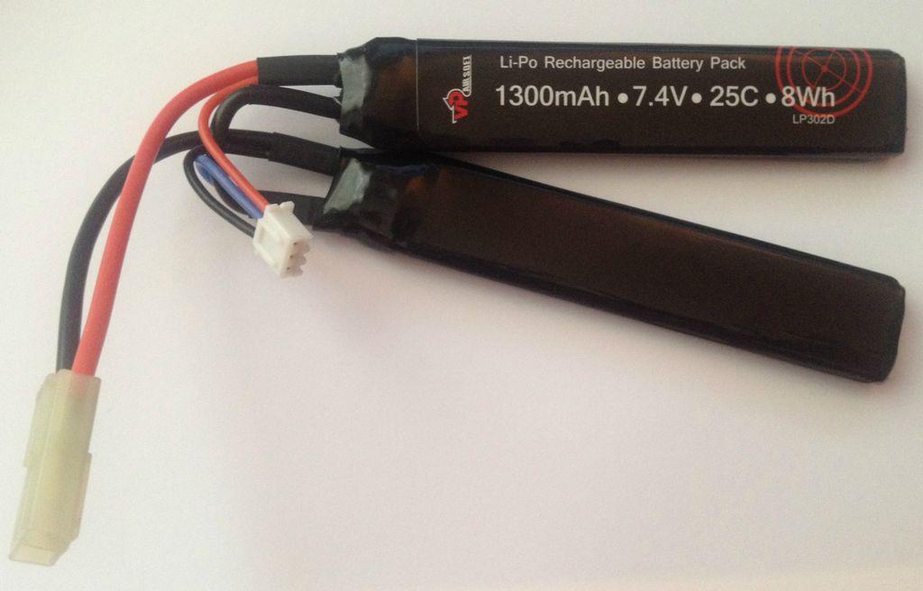 Vapex Vapex 7.4v 1300mAh 25c/50c Cranestock Lipo