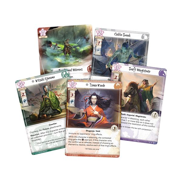 Legend of the Five Rings Legend of the Five Rings The Card Game