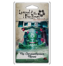 Legend of the Five Rings The Chrysanthemum Throne Expansion Pack