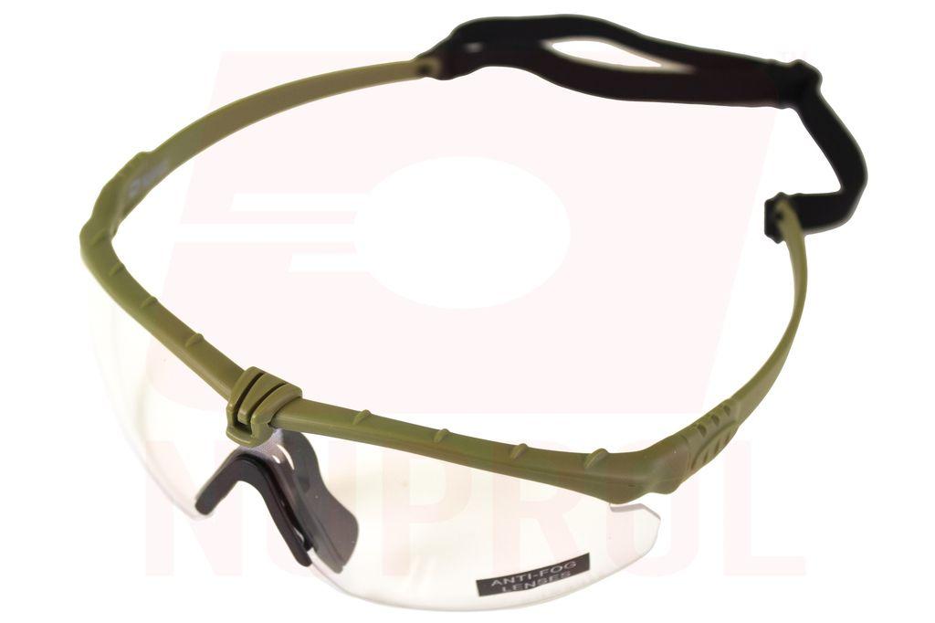Nuprol Nuprol Battle Pro's Green Frame / Clear Lense