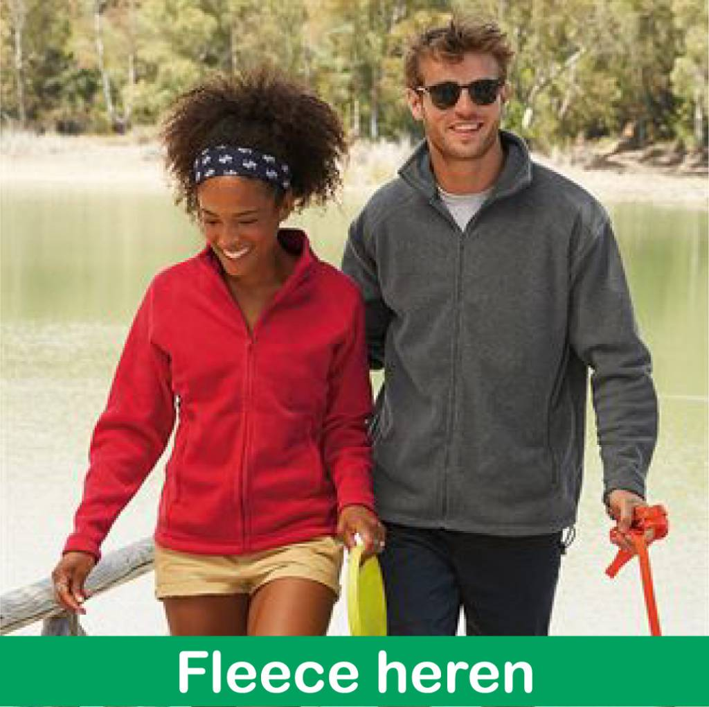 Geocaching Fleeces mannen