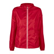 Geocaching Regenjas vrouwen rood
