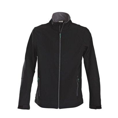 Geocaching Softshell jacket zwart